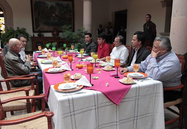 En su visita a Morelia, Meade Kuribreña dijo que se buscarán mejores alternativas de vinculación. (Notimex)