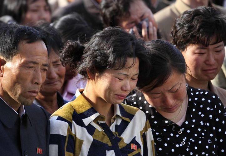 El régimen de Corea del Norte solamente indicó que el accidente 'fue grave'. (AP)