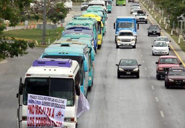 Los transportistas se sentarán a dialogar a partir del lunes 6 de mayo. (Milenio Novedades)