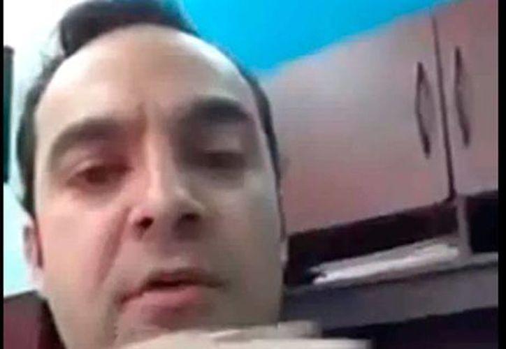 Luis Fernando Woolfok Bravo, el funcionario de Gobierno de Sonora que subió un video a las redes sociales, ya no es más parte del Gobierno. (captura de pantalla)