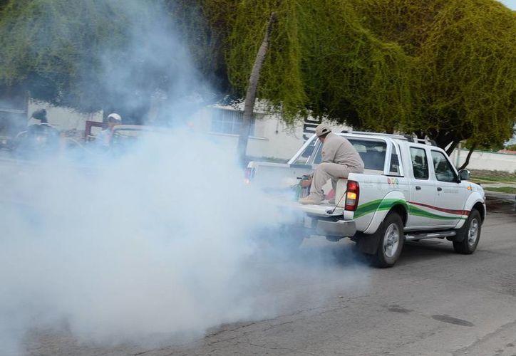 Las nebulizaciones de esta semana se realizarán de las 18 hasta las 21 horas en Cancún. (Redacción/SIPSE)