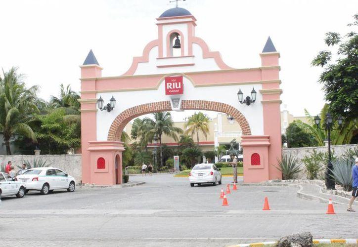 El hotel Riu Yucatán que tiene su proyecto de ampliación. (Adrián Barreto/SIPSE)