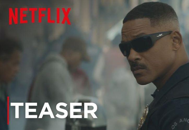 """Will Smith actuará como el oficial  """"Scott Ward""""  en la cinta """"Bright"""". (Youtube)."""