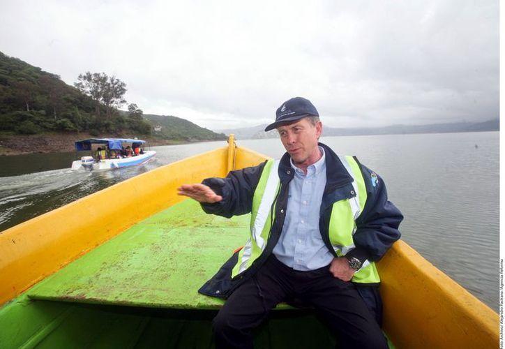 José Luis Luege Tamargo, titular de la Conagua hizo un recuento de su administración, y aseguró que se lograron las metas establecidas en el Plan Nacional de Desarrollo. (Agencia Reforma)