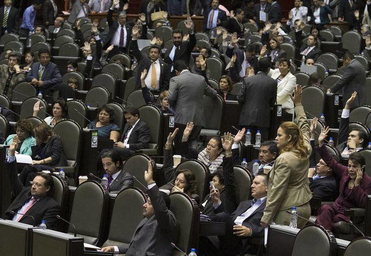 La minuta fue aprobada con 299 votos a favor. (Archivo/Notimex)