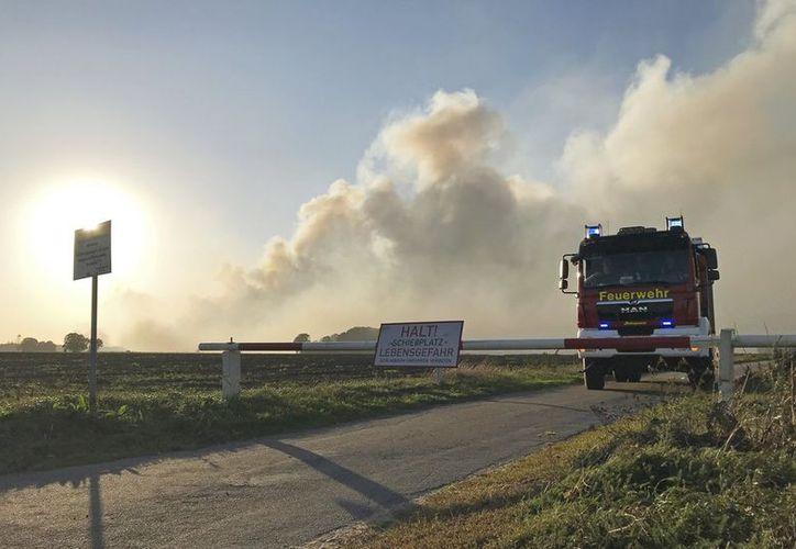 El incendio se registra en la región de Baja Sajonia. (vanguardia.com)