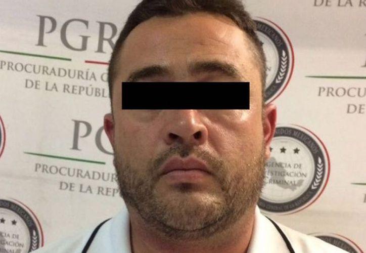 """El gobierno federal detuvo en Tijuana, Baja California, a Óscar Adán """"N"""", alias """"El Güero Chihuahua"""". (Especial/Excelsior)"""