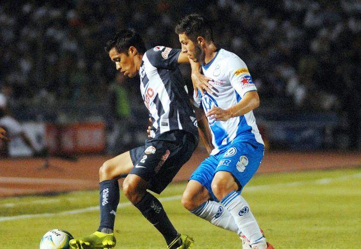 Puebla simplemente fue dominado por Monterrey. (Notimex)
