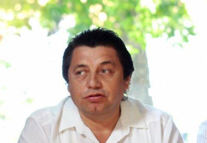 Freddy Santos Morales, integrante de Fedessp. (Milenio Novedades)