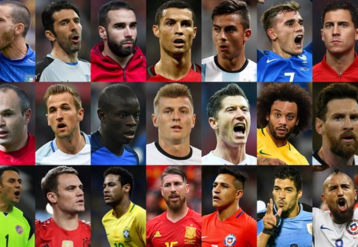 Lionel Messi, Cristiano Ronaldo y Neymar, destacan en la lista de la FIFA. (Foto: López Dóriga)