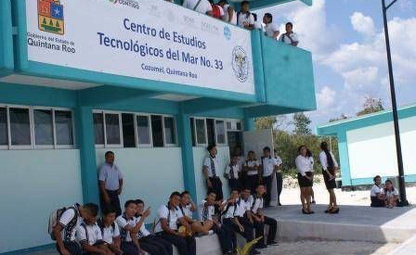 En Cozumel el edificio del Cetmar se inauguró en marzo del año pasado. (Cortesía)