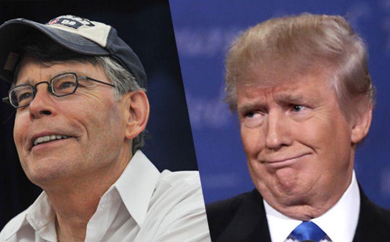 ¡No más películas de Stephen King para Trump!