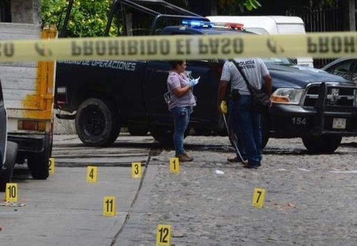 Se ha señalado a ese grupo delictivo como el responsable de los atentados en los pueblos del valle del Ocotito. (Foto: Contexto de Internet)
