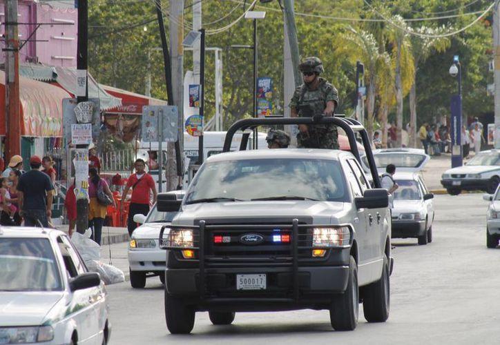 Las medidas de seguridad implementadas por las autoridades no han frenado las extorsiones en Cancún. (Jesús Tijerina/SIPSE)