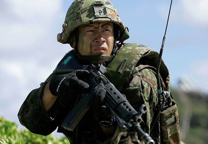 Japón tiene previsto mantener el nivel máximo de preparación hasta que se considere que la amenaza ha desistido. (Excelsior/Reuters)