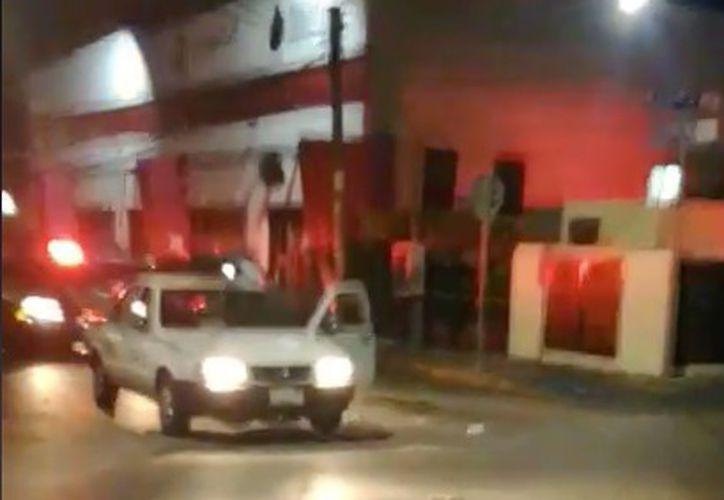 El hecho ocurrió en la calle  calle 10 con avenida 15. (Foto:SIPSE)