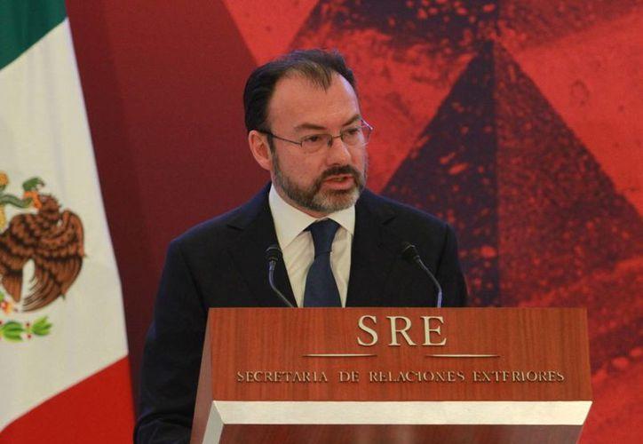 El titular de Relaciones Exteriores asegura que México está obligado a actuar a partir del interés nacional. (Notimex)