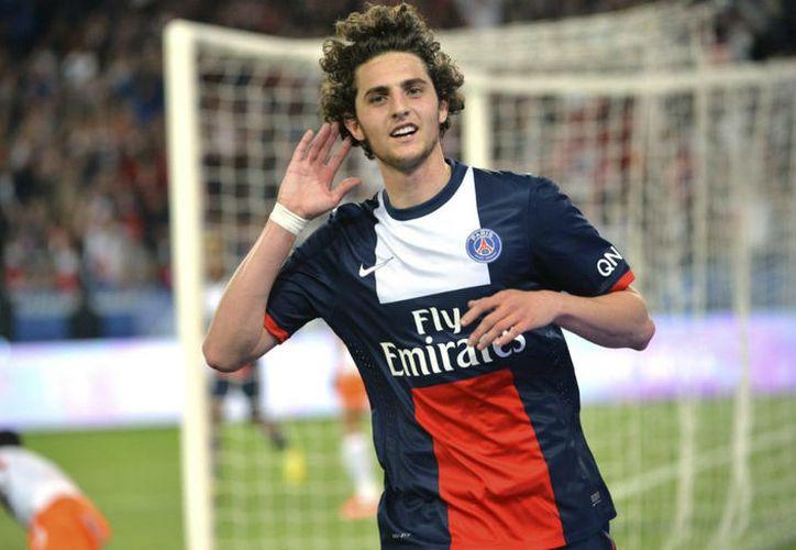 A Rabiot no le gustó que lo mandará a la reserva de la selección francesa. (Internet)