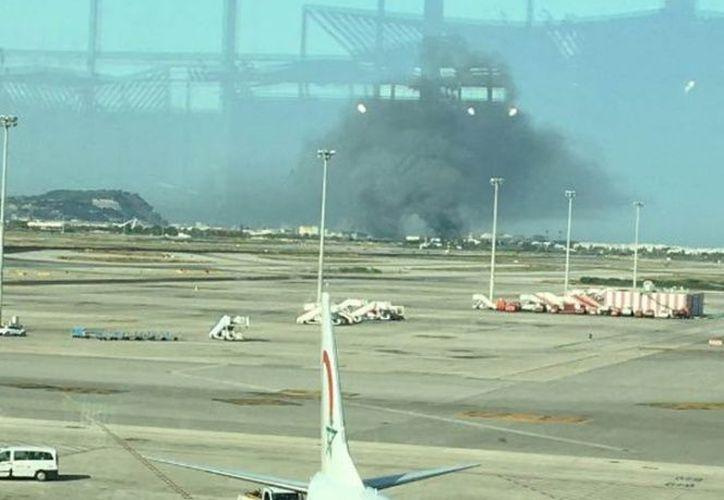 Los vuelos fueron afectados y tres pistas de aterrizaje fueron cerradas. (Contexto)