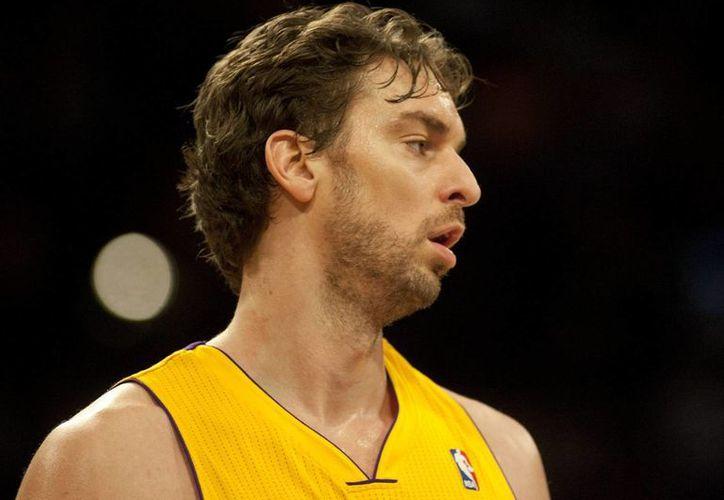 Tras siete temporadas con Lakers, Pau Gasol se enrola con Toros de Chicago. (EFE)