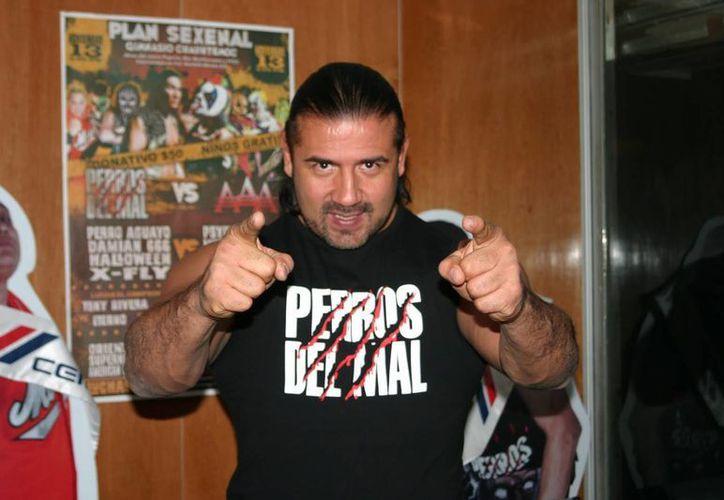 Su última aparición en la Triple AAA fue en un evento llamado Triplemanía junto con su amigo el Hijo del Perro Aguayo. (Internet)