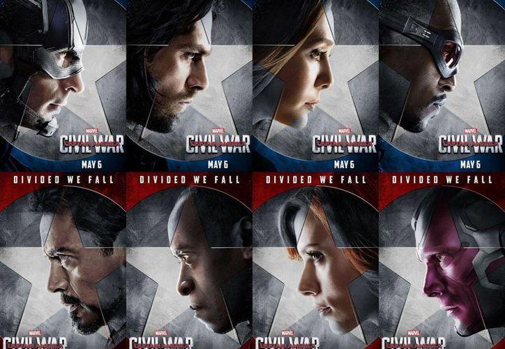 En 'Captain America: Civil War', los superheroes han pasado a ser multitud. Y como cada uno de ellos ya tiene su legión propia de seguidores, los momentos brillantes se multiplican en la película, en detrimento de un poco de coherencia en la historia. (Imagen tomada de blogdecine.com)