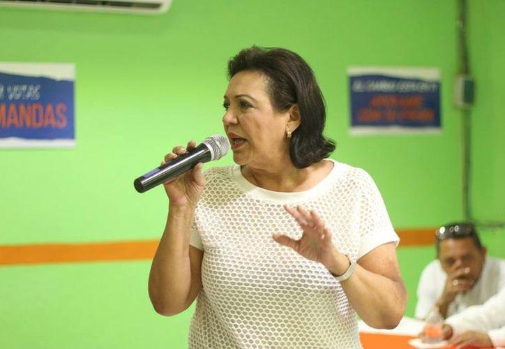 Sofía Romero Castro es una de los independientes que habría logrado reunir las firmas requeridas para competir en las elecciones. (Facebook)