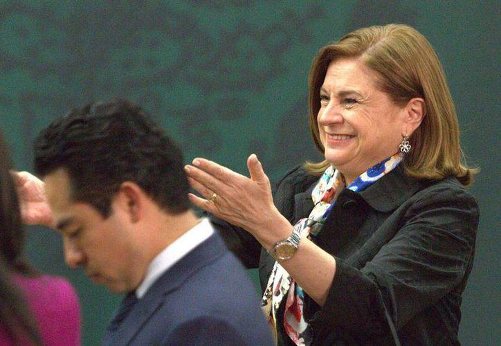 El Senado analizará la propuesta del Presidente, para que la senadora con licencia Arely Gómez sea la titular de la PGR. (Foto Notimex)
