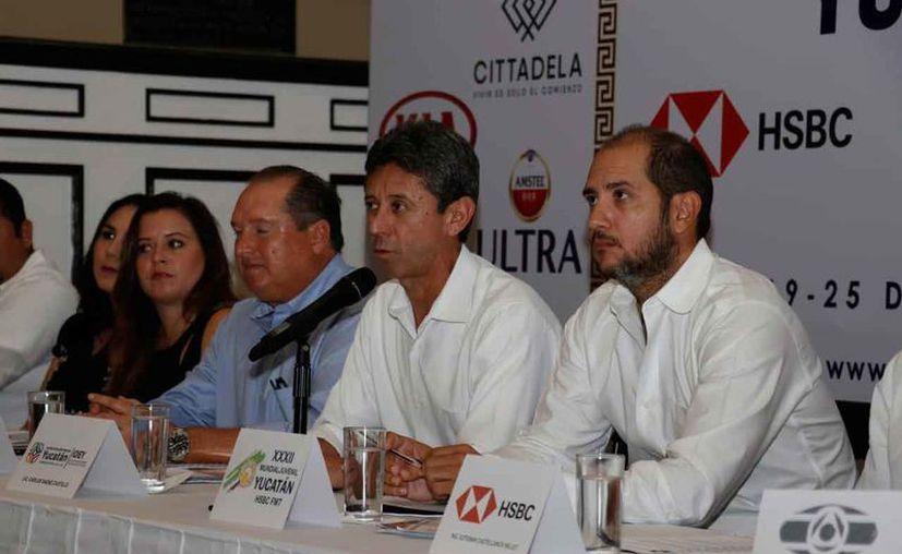 Se hizo la presentación oficial de la edición XXXII del Mundial Juvenil de Tenis. (Foto: José Acosta/ Milenio Novedades)