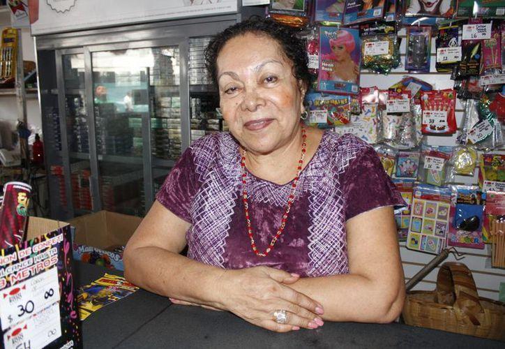 María Cruz Hernández Hernández, presidenta de la Asociación de Oaxaqueños Unidos en Benito Juárez. (Sergio Orozco/SIPSE)