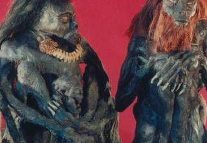 Estos son unos demonios cubanos a los cuales al parecer se encomendaba la bruja Tila, de Umán. (Jorge Moreno/Milenio Novedades)