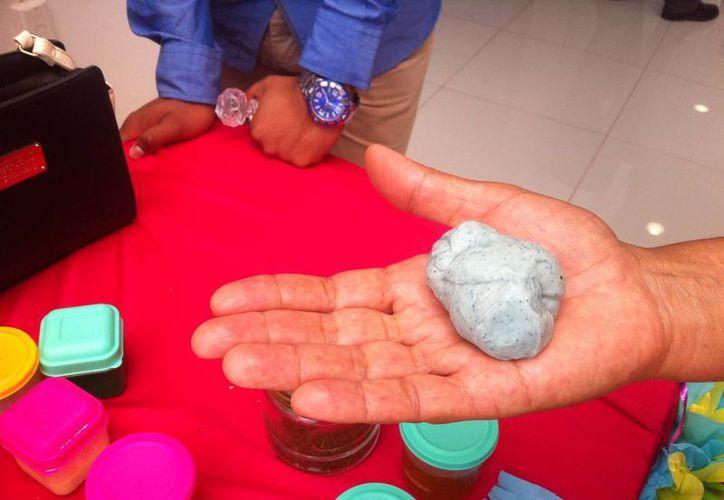 El proyecto de bioplástico hecho a base de harina de sargazo fue ingresado al INNN. (Jesús Tijerina/SIPSE)