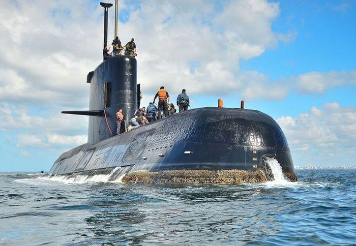 El submarino recorría una ruta desde la base naval de la ciudad de Ushuaia, ubicada en el extremo sur de la Patagonia, hacia Mar del Plata. (Excélsior).