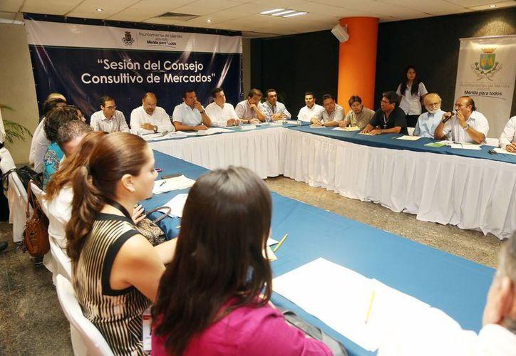 El pasado miércoles se sesionó el Consejo Consultivo de Mercados. (SIPSE)