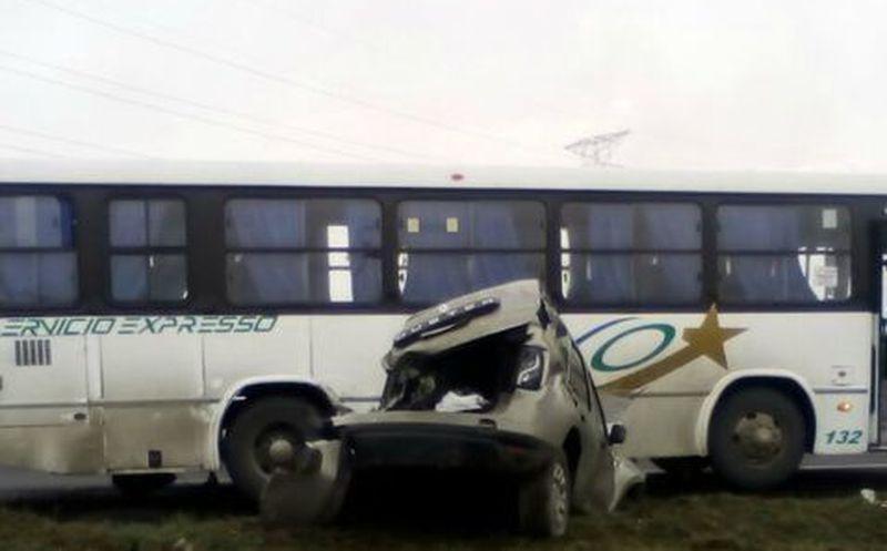 Accidente en Circuito Exterior Mexiquense deja varios muertos