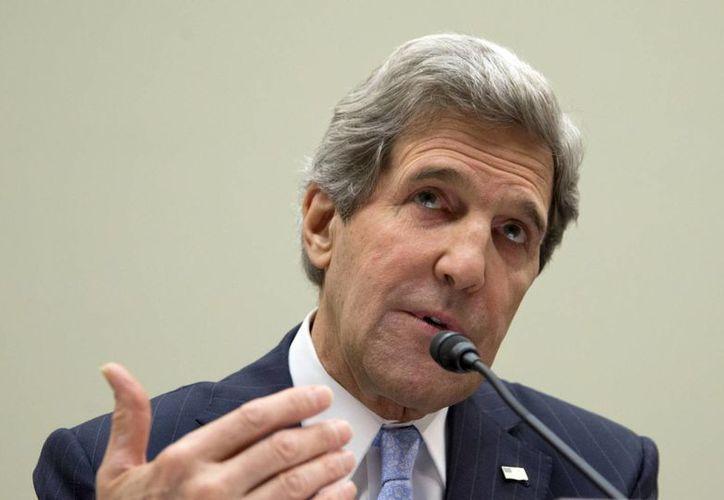 Kerry testificó ante el Congreso estadunidense. (Agencias)