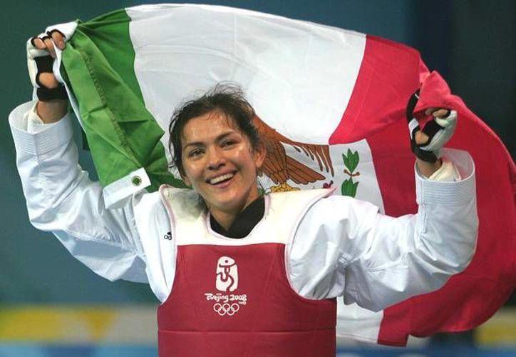 María del Rosario Espinoza planea conseguir la medalla de oro, logró que ya tuvo en en Beijing 2008. (Archivo Mexsport)