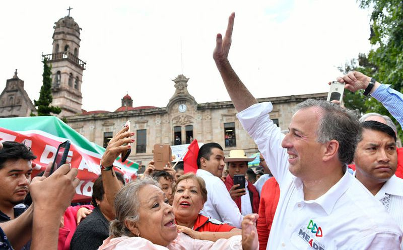 José Antonio Meade afirmó que los priístas no se rinden. (Notimex)