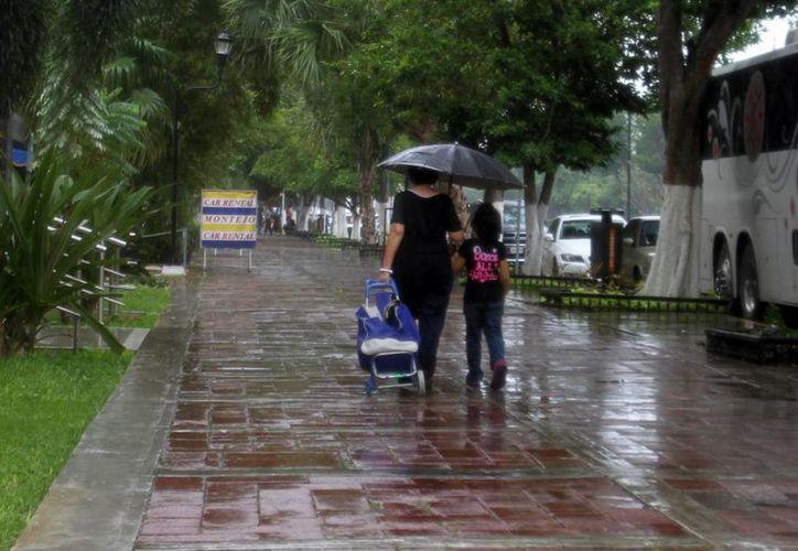 Para este domingo se esperan lluvias y nublados en la ciudad de Mérida, de acuerdo a reportes de la Conagua. (SIPSE)