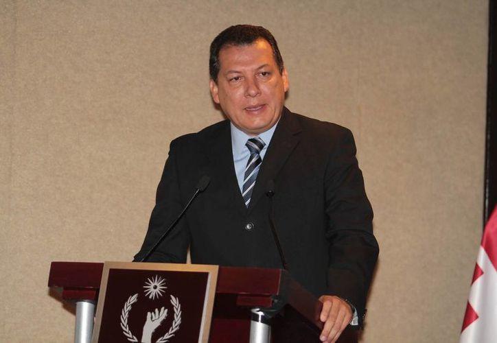 El presidente de la CNDH, Raúl Plascencia, dijo que en el caso de Chalchihuapan, solo se investigará a 20 escopeteros y 12 granaderos. (@Cencos)