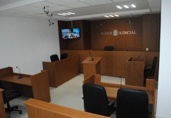 Se realizó la audiencia en la sala oral del Ministerio Público. (Eric Galindo/SIPSE)