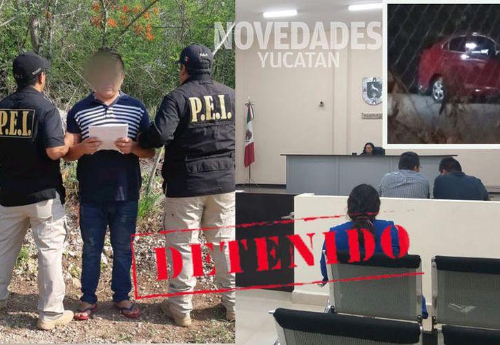 El presunto asesino fue detenido esta mañana. (Especial)