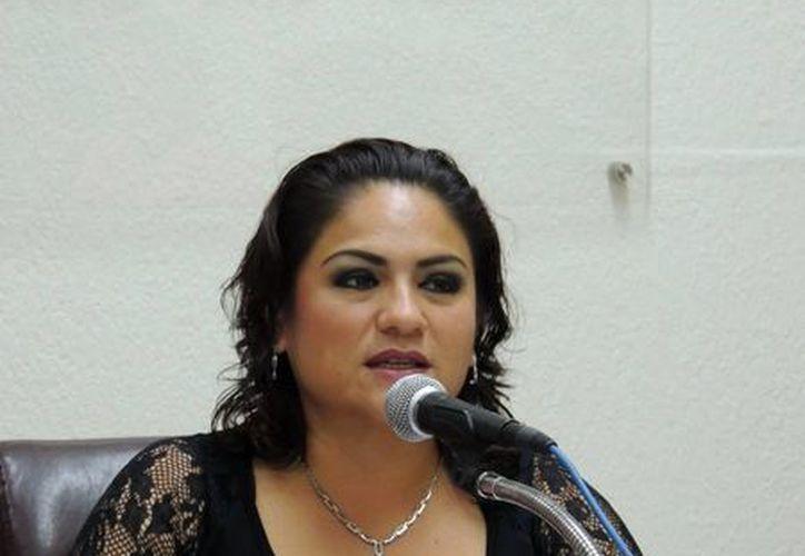 Elsa Sarabia, diputada local. (Milenio Novedades)