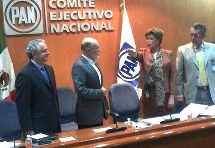 Cecilia Romero asumió la presidencia del Comité Ejecutivo del PAN. (@PerezCuevasMx)