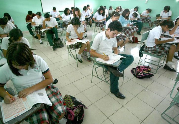 Aunque Yucatán tuvo bajos porcentajes en Secundaria, se ubicó por encima de la media nacional. (SIPSE)