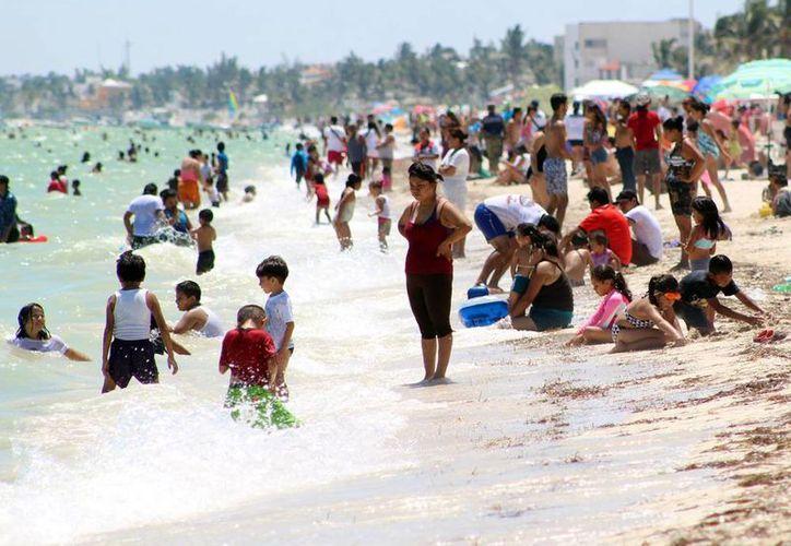 Gobierno invierte en el mejoramiento de la imagen urbana de Progreso, pero también en la promoción turística en redes sociales. (Milenio Novedades)