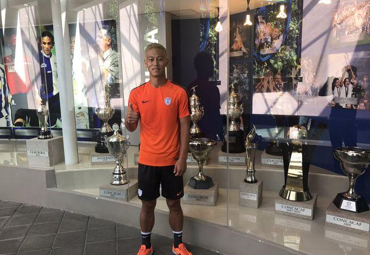 Un día después de llegar a México procedente de los Estados Unidos, Keisuke Honda trabajó en la Universidad del Fútbol. (Twitter).