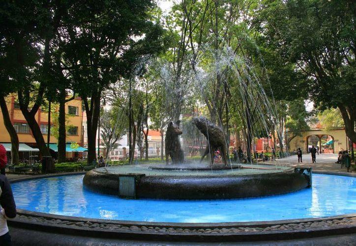 El centro histórico de Coyacán es uno de los lugares más visitados de la Ciudad de México.  (Archivo/SIPSE)