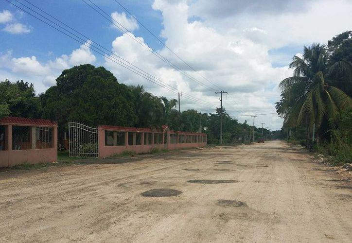 El presupuesto será de 26 millones de pesos para trabajos de repavimentación de calles y bacheo. (Edgardo Rodriguez/SIPSE)