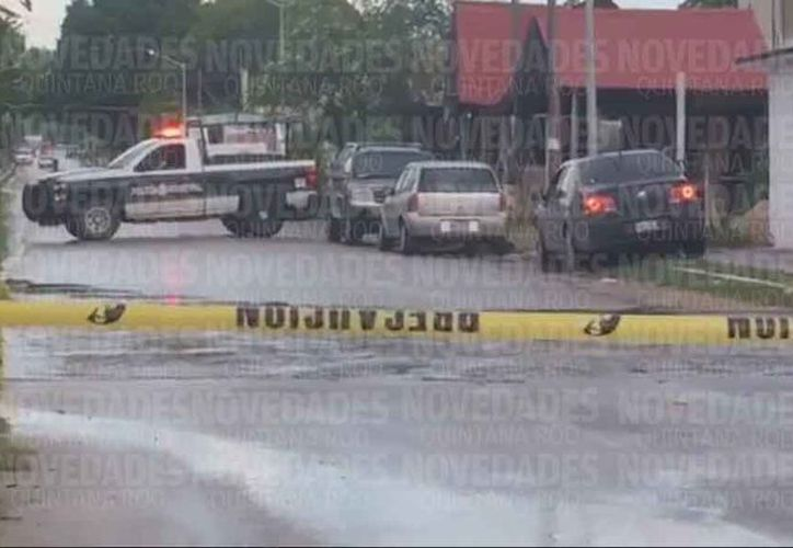El hombre conducía su vehículo cuando fue interceptado. (Javier Ortiz/SIPSE)